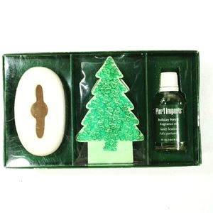 Pier 1 Holiday Forest Scented Diffuser Set New